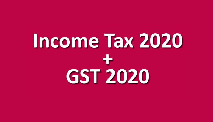 Income Tax + GST 2020