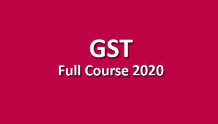 GST Pendrive May / Nov. 2020
