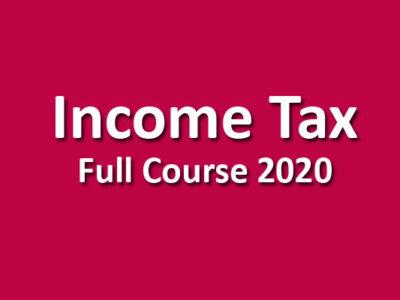 CMA Income Tax Pendrive June / Dec. 2020