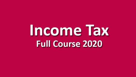 CMA Income Tax June / December 2020