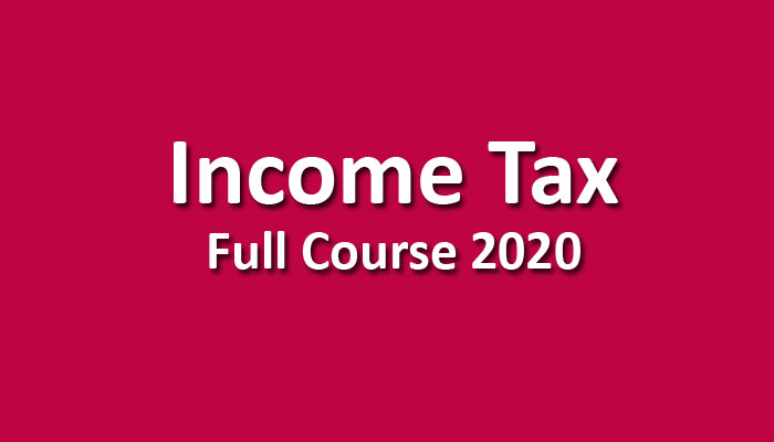 CMA Income Tax Pendrive June / Dec. 2020