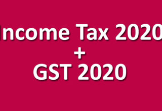 Income Tax + GST pendrive May / Nov. 2020