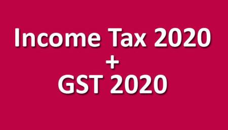 Income Tax + GST pendrive May / Nov. 2020